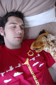 Me and giraffe. Who is more photogenic?!